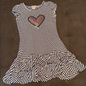Flapdoodles striped dress